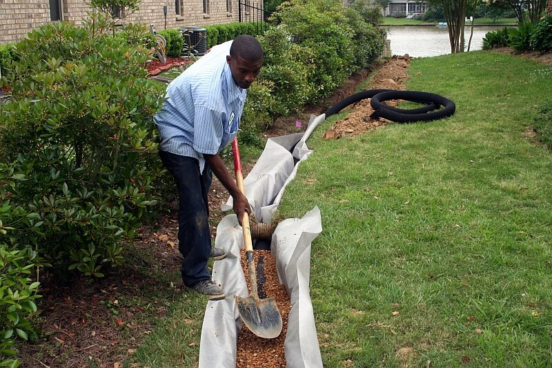 Drainage Problem? You May Need a French Drain? - Love Irrigation